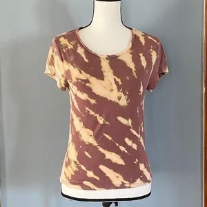 Upcycled Reverse Tie Dyed Tee